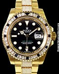 ROLEX 116758 SANR GMT II 18K NEW