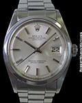 ROLEX 1600 DATEJUST SMOOTH BEZEL STEEL