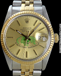 ROLEX DATEJUST REF 16000 WITH RARE ARAB DIAL