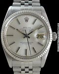 ROLEX REF 16000 DATEJUST STEEL