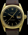 ROLEX DATEJUST REF 1601 with GILT GLOSS DIAL CIRCA 1965