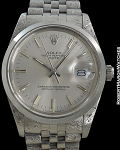 ROLEX REF 1601 DATEJUST SILVER DIAL