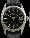 ROLEX 1601 DATEJUST STAINLESS GLOSS DIAL AUTOMATIC