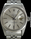 ROLEX REF 16014 DATEJUST SILVER DIAL