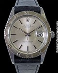 ROLEX 1625 THUNDERBIRD DATEJUST STEEL BOX & PAPERS