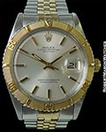 ROLEX 1625 THUNDERBIRD DATEJUST 18K/STEEL