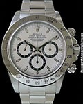 ROLEX DAYTONA 16520 AUTOMATIC ZENITH MOVEMENT STEEL BOX & PAPERS