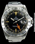 ROLEX 1655 EXPLORER II STEVE MCQUEEN STRAIGHT SECONDS 1972 UNPOLISHED