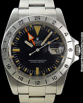 ROLEX 1655 EXPLORER II GORGEOUS PATINA