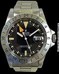 ROLEX 1655 EXPLORER II STEVE MCQUEEN UNPOLISHED STEEL BOX & PAPERS