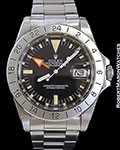 ROLEX 1655 EXPLORER II STEVE MCQUEEN UNPOLISHED RSC PAPERS