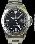 ROLEX 1655 EXPLORER II STEVE MCQUEEN FRECCIONE STRAIGHT SECONDS