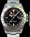 ROLEX 16550 EXPLORER II STEVE MCQUEEN STAINLESS AUTOMATIC