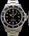 ROLEX 16600 SEA DWELLER STAINLESS AUTOMATIC