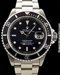 ROLEX SUBMARINER 16610 STEEL DATE