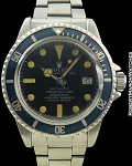 ROLEX REF 1665 SEA-DWELLER WITHOUT HELIUM ESCAPE VALVE PROTOTYPE EXTREMELY RARE