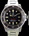 ROLEX 1665 TROPICAL DOUBLE RED SEA-DWELLER UNPOLISHED STEEL BOX & PAPERS