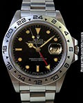 ROLEX 16650 EXPLORER II AUTOMATIC STAINLESS