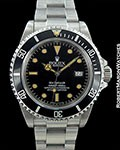 ROLEX 16660 SEA DWELLER TRIPLE 6 STEEL UNPOLISHED 1983