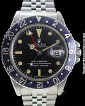 """ROLEX REF 1675 GMT """"BLACKBERRY"""" CIRCA 1969"""