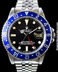 ROLEX 1675 GMT BLUEBERRY STEEL