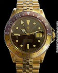 ROLEX GMT 1675 18K COLOR CHANGE DIAL