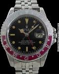 """ROLEX REF 1675 GMT PEPSI """"FUSCIA GHOST"""" CIRCA 1969"""