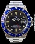 ROLEX 16750 GMT BLUEBERRY STEEL