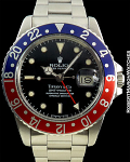 ROLEX 1675 GMT PEPSI TIFFANY