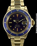 ROLEX SUBMARINER 1680 18K COLOR CHANGE DIAL 1978