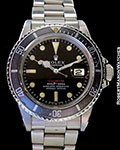 ROLEX 1680 RED SUBMARINER MK 4 STEEL AUTOMATIC