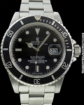 ROLEX REF 16800 SUBMARINER STEEL