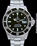 ROLEX SUBMARINER 16800 TRANSITIONAL STAINLESS STEEL