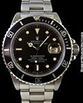 ROLEX SUBMARINER 16800 STEEL TRANSITIONAL