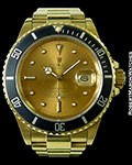 ROLEX 16808 18K SUBMARINER COLOR CHANGE DIAL