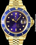 ROLEX 16808 SUBMARINER 18K AUTOMATIC