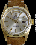 ROLEX 1802 DAY DATE TIFFANY 18K