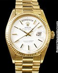 ROLEX DAY DATE PRESIDENT 1803 18K BOX PAPERS