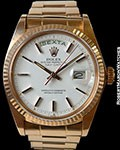 ROLEX 1803 DAY DATE PRESIDENT 18K ROSE GOLD