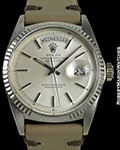 ROLEX 1803 DAY DATE PRESIDENT 18K WHITE GOLD