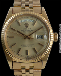 ROLEX DAY-DATE REF 1803 18K ROSE GOLD WITH PINK DIAL CIRCA 1977