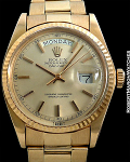 ROLEX REF 1803 DAY-DATE ROSE GOLD UNPOLISHED MINT CONDITION