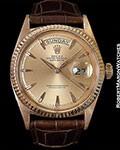 ROLEX DAY DATE 1803 18K ROSE GOLD 1967