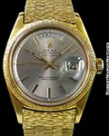 ROLEX DAY DATE 1807 TEXTURED 18K GOLD