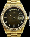 ROLEX DAY DATE PRESIDENT 18078 VIGNETTE DIAL