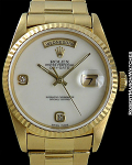 ROLEX REF 18238 DAY-DATE WITH INCREDIBLY RARE AGATE STONE DIAL ORIGINAL PAPERS