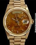 ROLEX DAY DATE PRESIDENT 18238 MAHOGANY DIAL