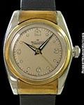 ROLEX 2319 OYSTER PERPETUAL BUBBLEBACK 18K & STAINLESS HOODED LUGS