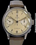 ROLEX VINTAGE UNPOLISHED CHRONOGRAPH 2508 STEEL 1945