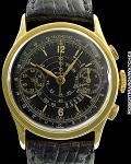 ROLEX VINTAGE REF 2811 TELEMETRE CHRONOGRAPH 18K GOLD MINT